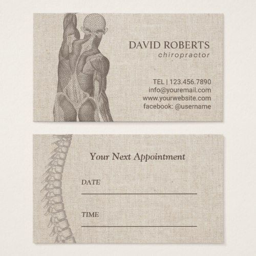 Chiropractor Massage Therapy Elegant Appointment Zazzle