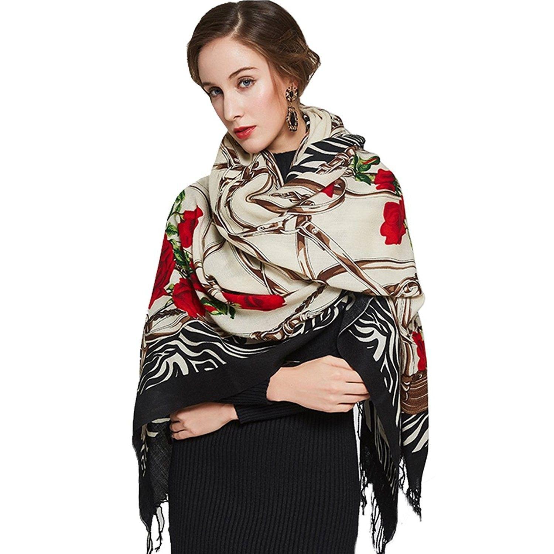 100/% Pashmina Cashmere Scarf Shawl Wrap Classic Mens Scarf Womens Scarves Wrap