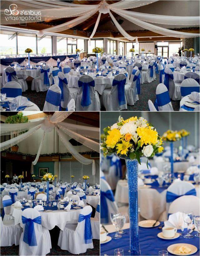 37 Fabulous Royal Blue Wedding Decorations Ideas White Wedding