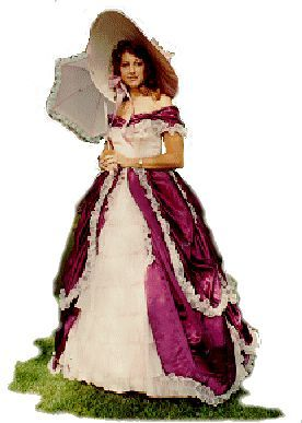pictures of southern belle women | Southern Belle Costume, Size 5 #dressesfromthesouthernbelleera