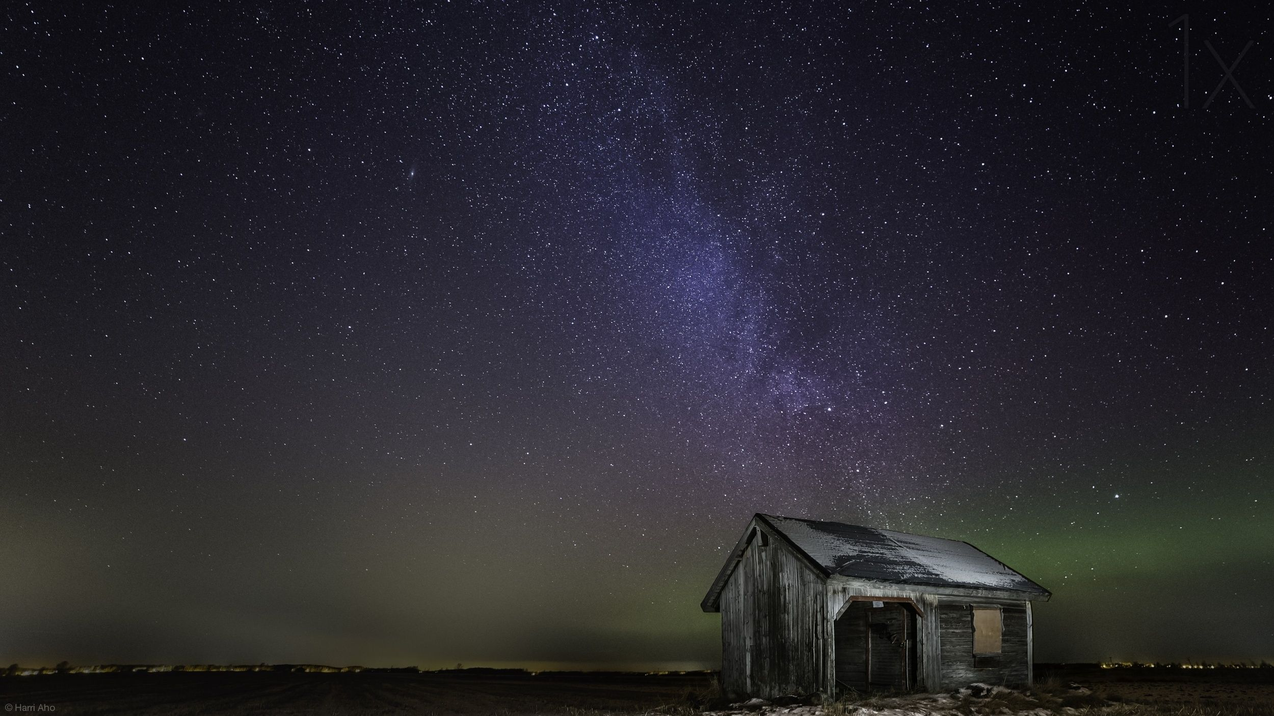 1X - Nasty light pollution by Harri Aho