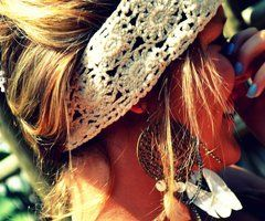 cute lace headband
