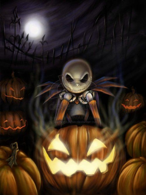 Jack Skellington - The Nightmare Before Christmas Nightmare Before - tim burton halloween decorations