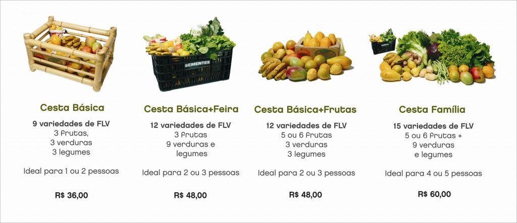 Alimentos orgânicos direto na sua casa.  Disponível pra São Paulo, Capital.  Maravilhoso!