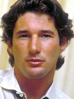 Young Richard Gere Hes cute even older with his gray hair ...
