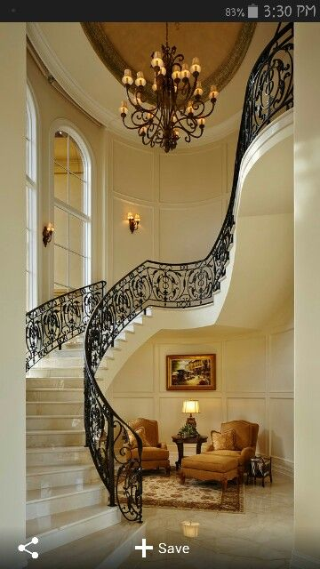 Best Swirl Stairs Staircase Design Stairs Design Entrance 400 x 300