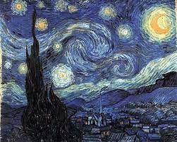 Notte Stellata. Un'atmosfera soprannaturale.