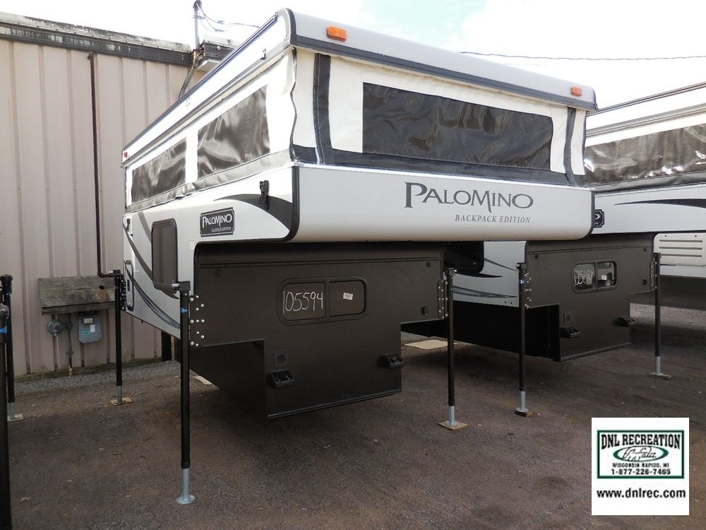 2 Palomino Ss 1200 Truck Campers Available At Dnl Recreation In