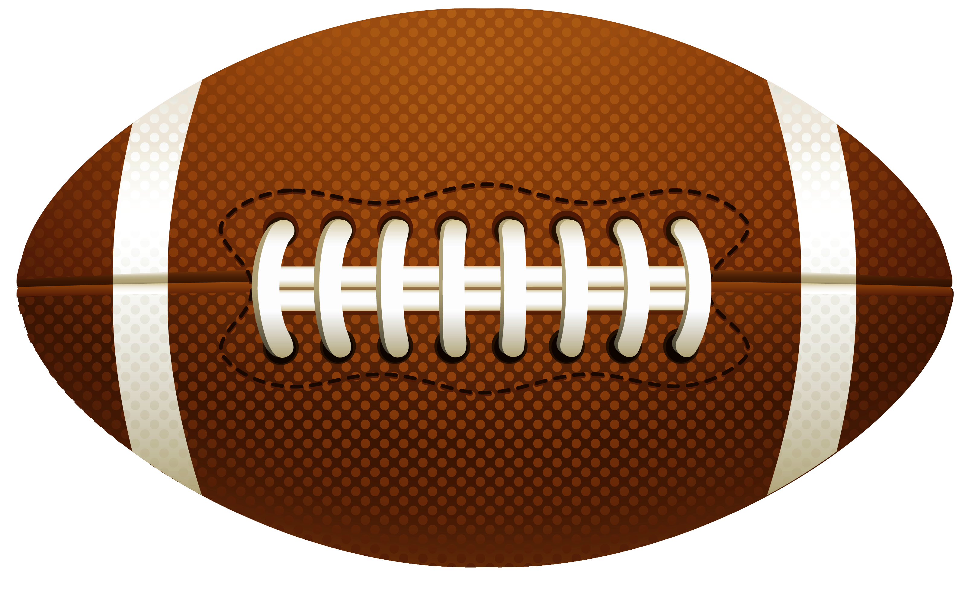 American Football Ball PNG Vector Clipart Football ball