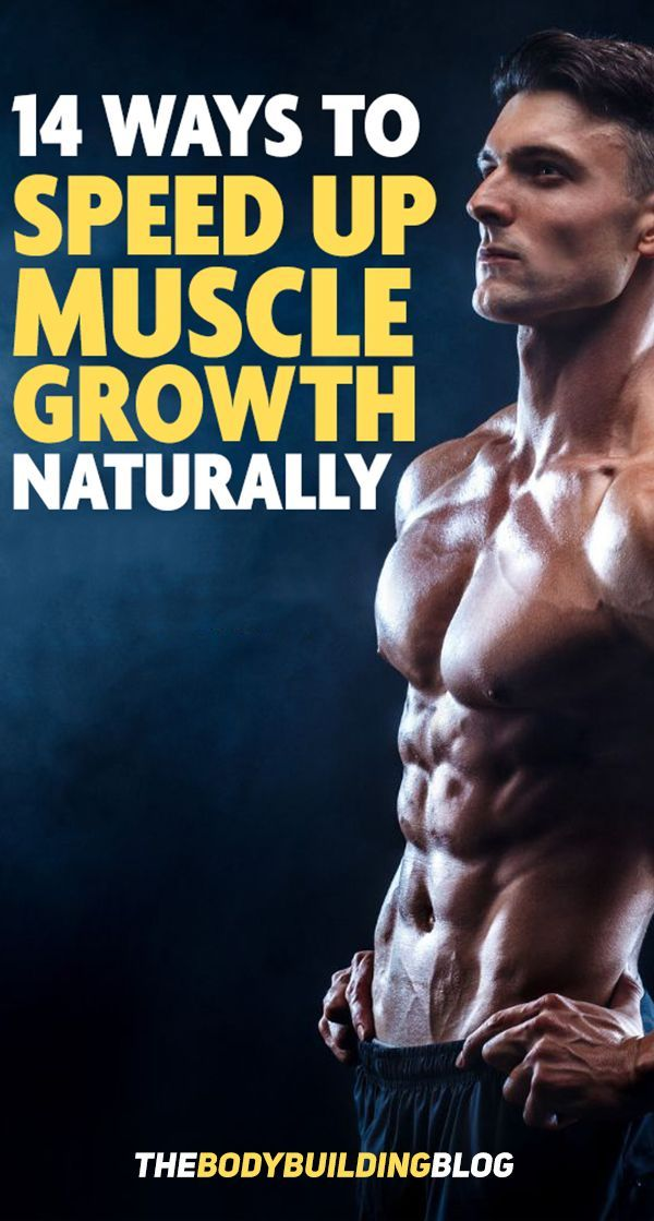 Here is a full list of 14 different ways you can use to build muscle fast naturally! Muscle growth n...