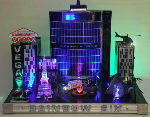 Rainbow Six PlayStation 3 console mod | Console Mods