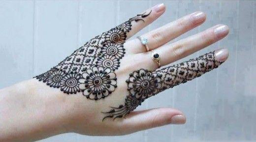 New Eid ul Azha & Party Mehndi Designs 2013