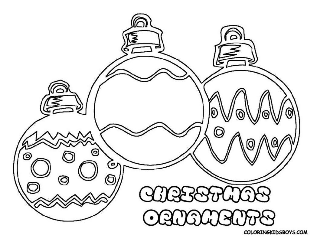 Christmas Ornament Coloring Pages Christmas Teddybear