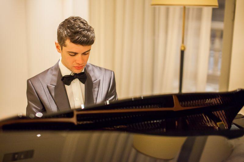 compositore e pianista italiano di musica classica contemporanea