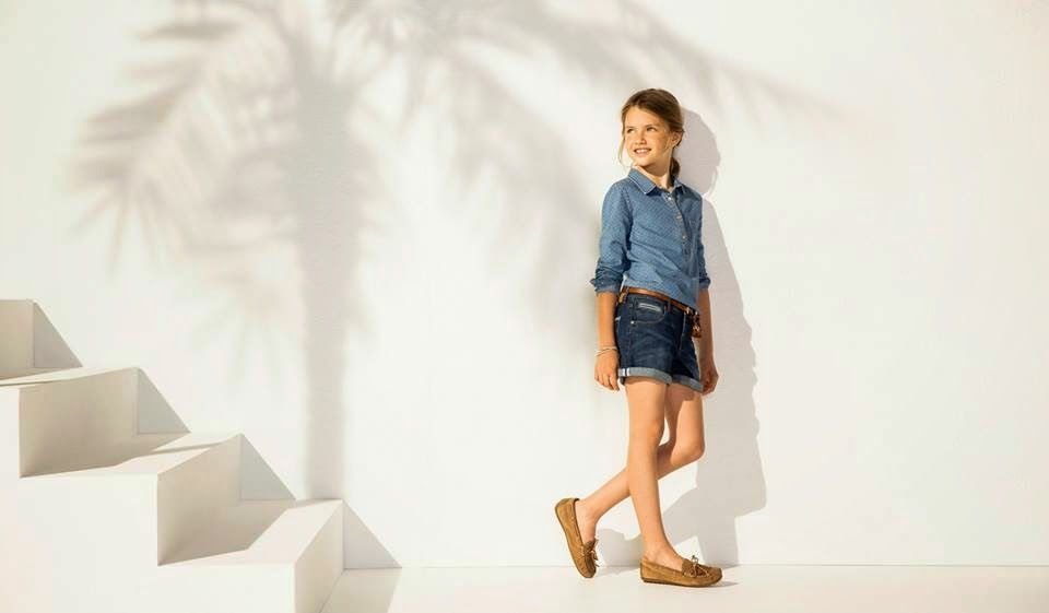 Massimo Dutti Summer Collection For Kids 2014 | New Summer Wear Dresses For Small Girls And Boys