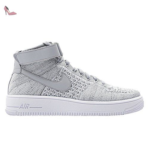 Nike Air Force 1 Ultra Flyknit Mid 817420003 Couleur: Blanc