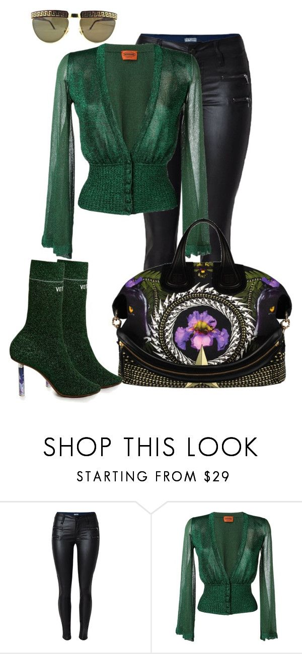 """Untitled #1384"" by styledbyjovonxo ❤ liked on Polyvore featuring Missoni, Givenchy and Vetements"