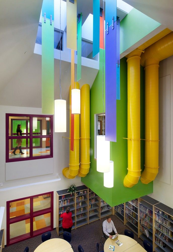 Gallery of what architecture has to say about education - Interior design for school buildings ...
