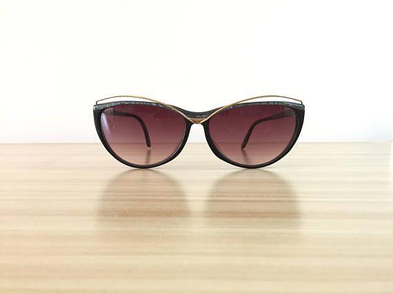 210207cea8eba Rodenstock Lifestyle Gold Glasses Grey Cat eye Eyeglass Retro Prescription  Sunglasses