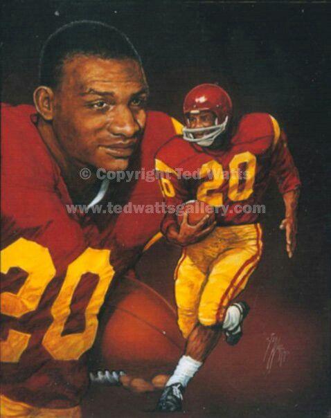 Mike Garrett 1965 Mike Garrett USC Heisman Winners Pinterest Usc trojans