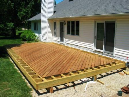 Anatomy Of A Hardwood Deck Project Building A Deck Deck Design Deck Designs Backyard