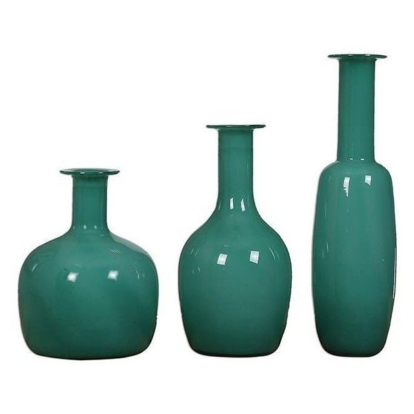 Baram Vases   Set Of 3 ($249) ❤ Liked On Polyvore Featuring Home,
