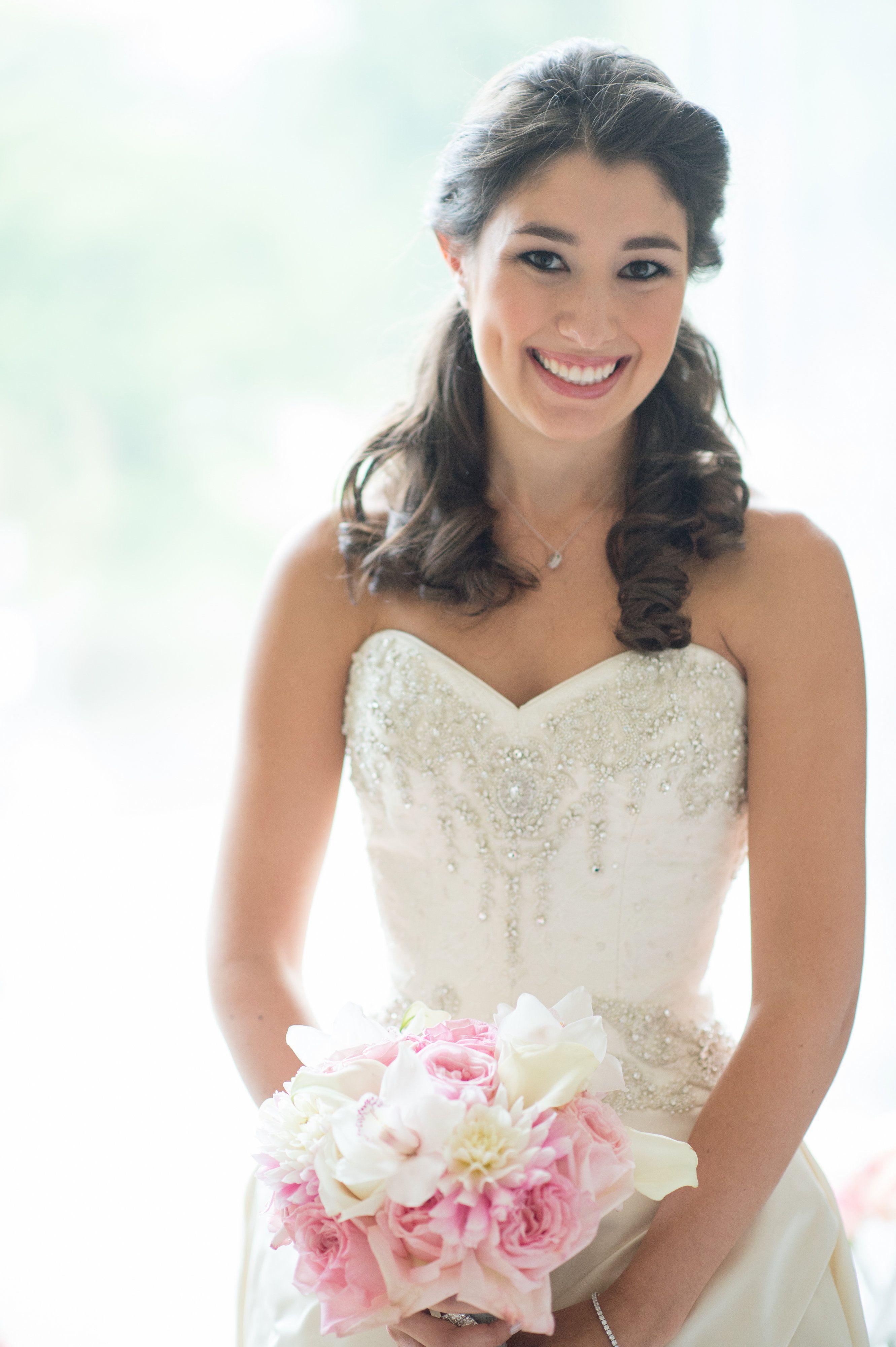 Priscilla of boston wedding dress  Hair by Priscilla Collins The Four Seasons Hotel Boston MA