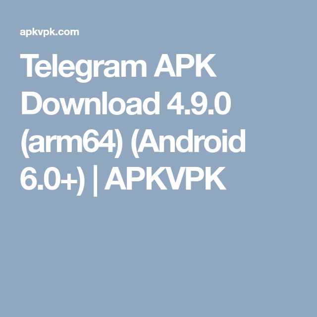 telegram app download for android apk