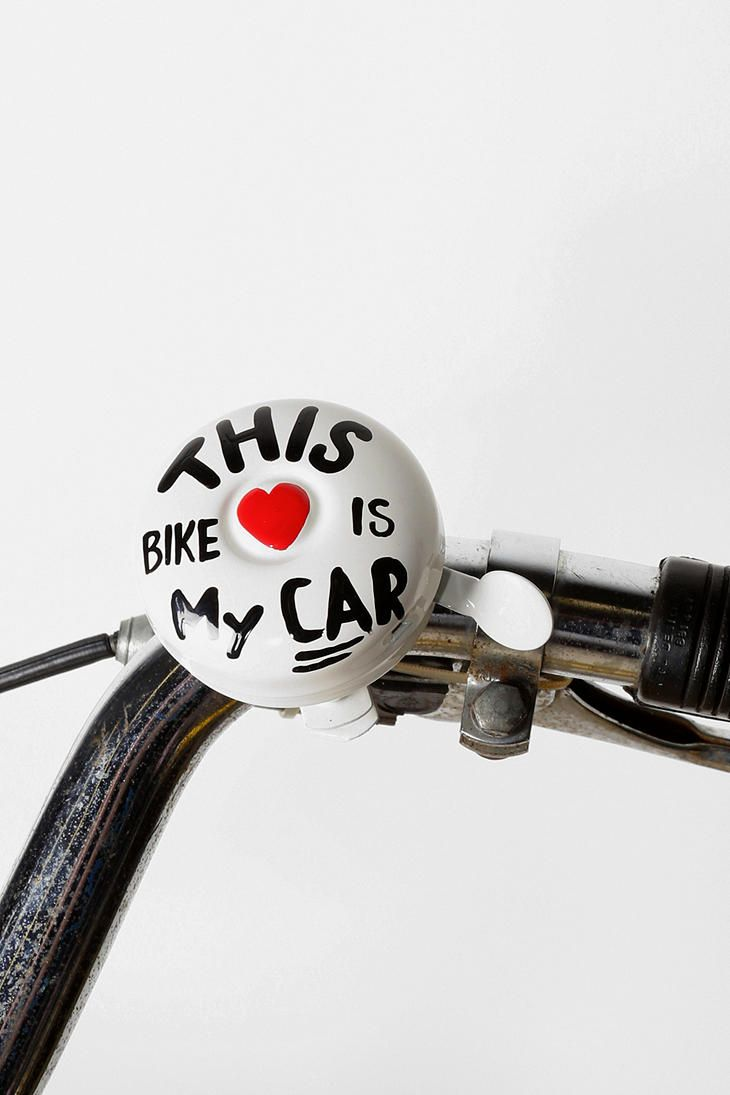 Hand Painted Bike Bell Bike Bicycle Workout Bicycle