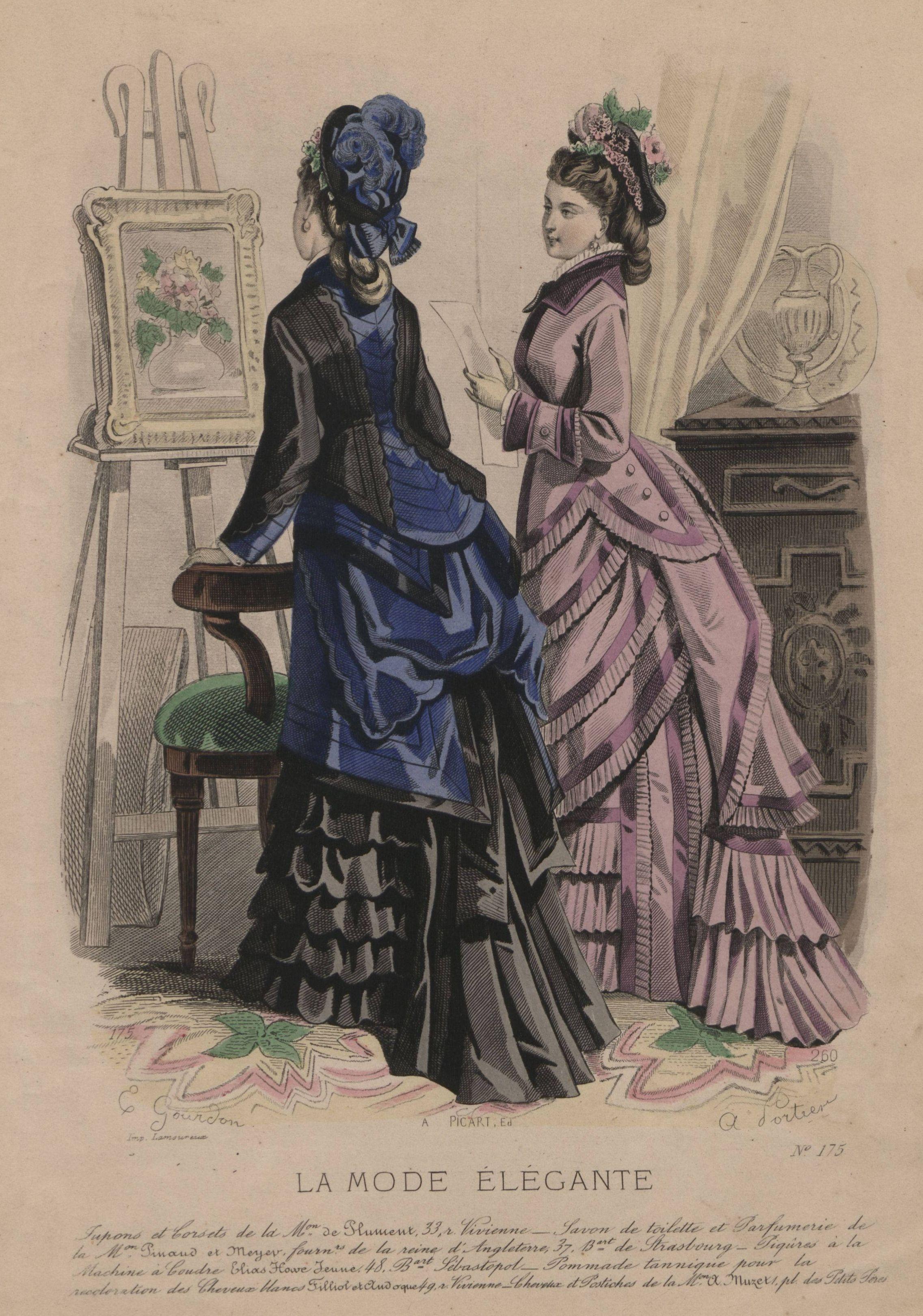 La Mode Elégante 1873