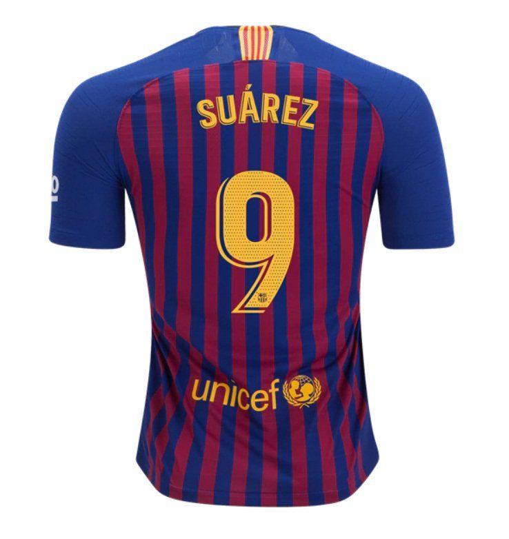 ed2fd18e088 FAN+SHIRT+Suarez+ 9+FC+Barcelona+2018-2019+Home+Jersey+Free+Shipping ...
