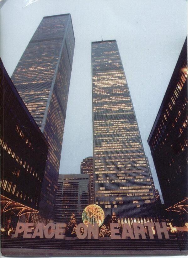 The World Trade Center, New York City, Christmas 1995