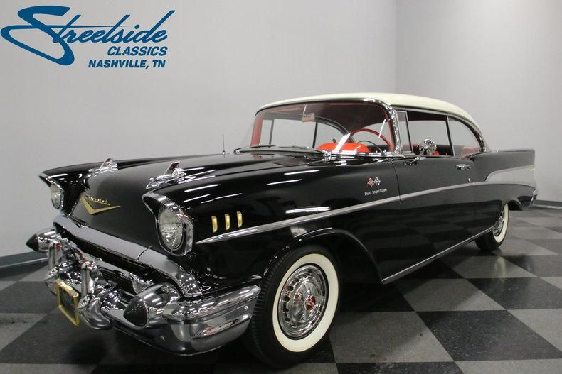 1957 Chevrolet Bel Air Fuelie Vintage Cars For Sale Muscle Cars For Sale Classic Cars