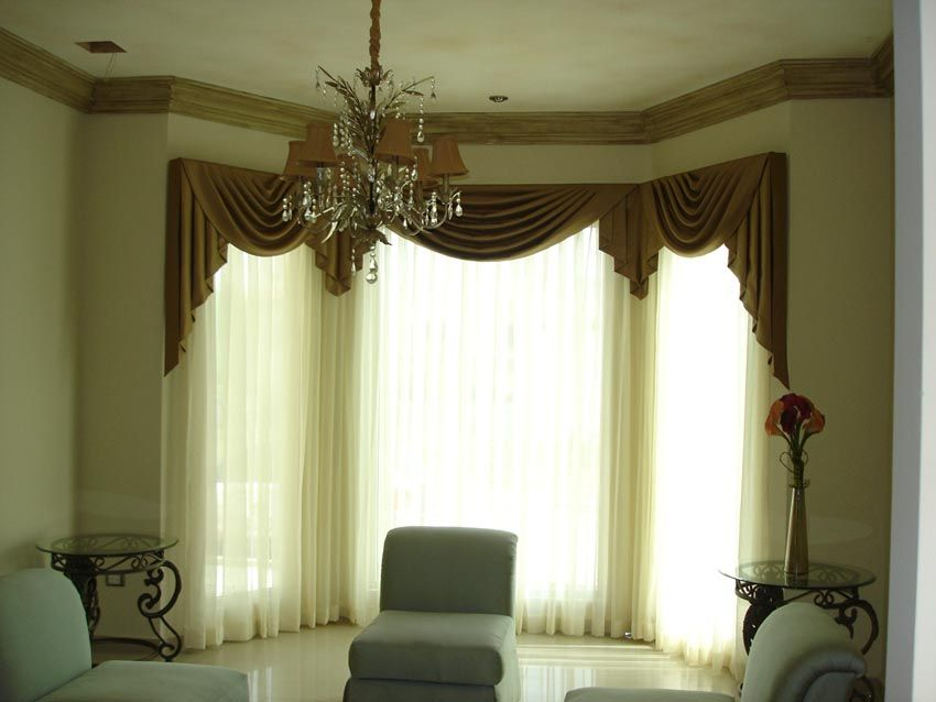 Cortinas para sala con cenefas buscar con google for Imagenes de salas modernas y elegantes
