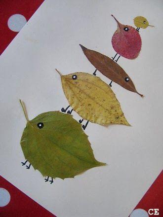 Bildergebnisse für Blätter #fallcraftsfortoddlers
