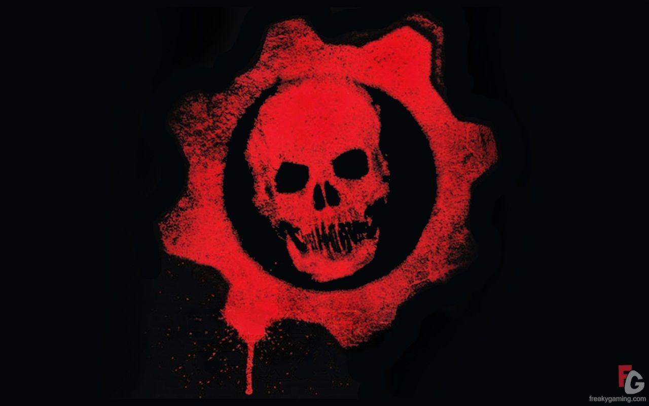 Skull Logo Gears Of War Gears Of War 3 Skull Logo