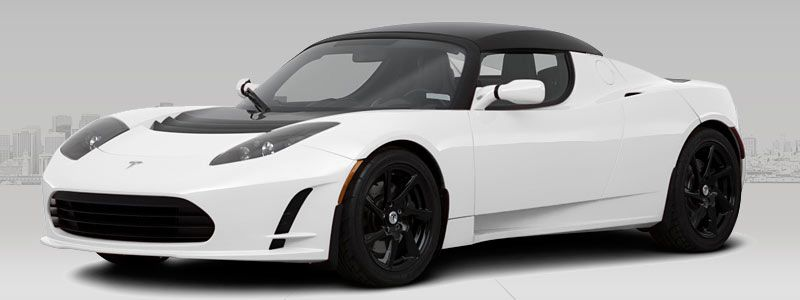 The Tesla Roadster  It's a beast! 0 - 60 in 3 7 seconds  Top speed