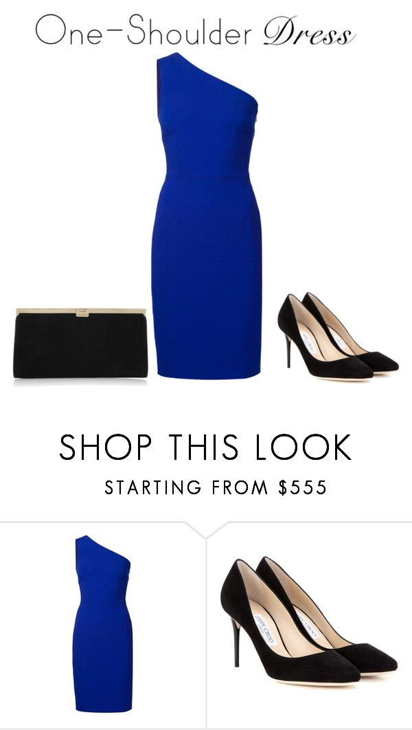 """""""one shoulder"""" by rachd ❤ liked on Polyvore featuring STELLA McCARTNEY and Jimmy Choo"""
