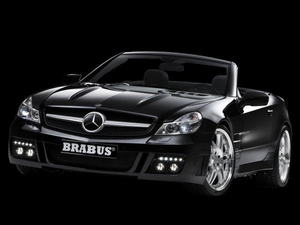 Black Mercedes Benz Sl Class By Brabus Transparent Image Number Black Mercedes Benz Benz Mercedes Benz