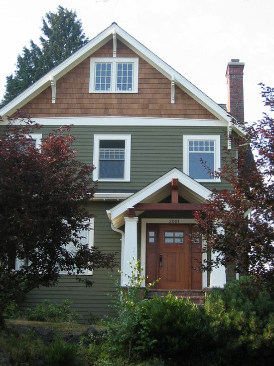 Spaces Shingle Siding Design Pictures Remodel Decor And Ideas Page 10 House Paint Exterior Green Siding Exterior Paint Colors For House