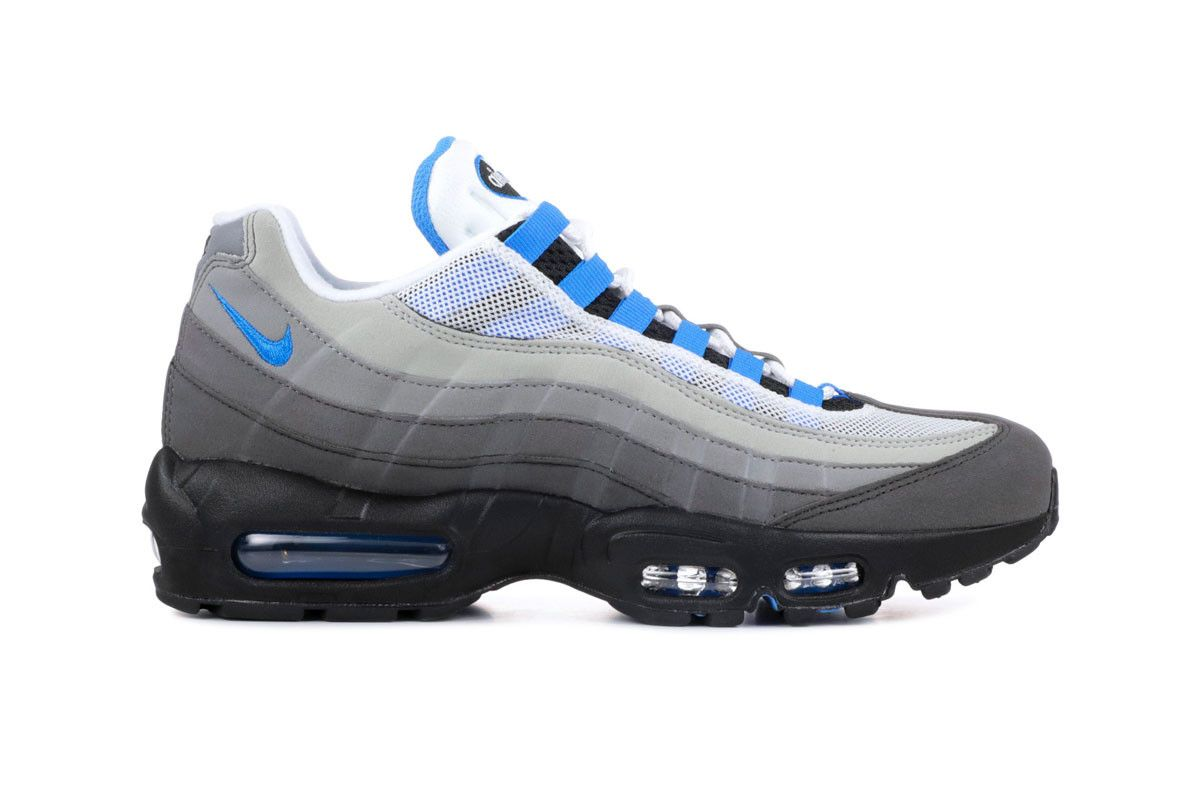 Nike Air Max 95 Crystal Blue Re Release White Crystal Blue 2019 Info Date 179f1214bd