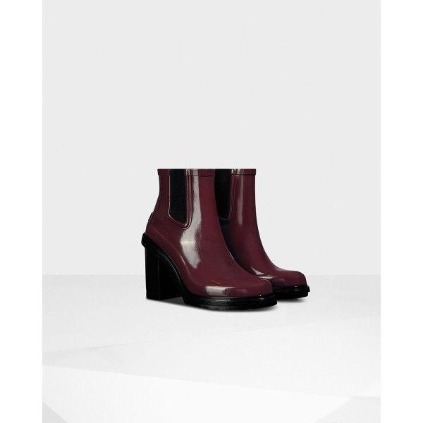 522ddd4cfe8 Hunter Women's Original Refined Chelsea Boots Dulse - Hunter Boots ...