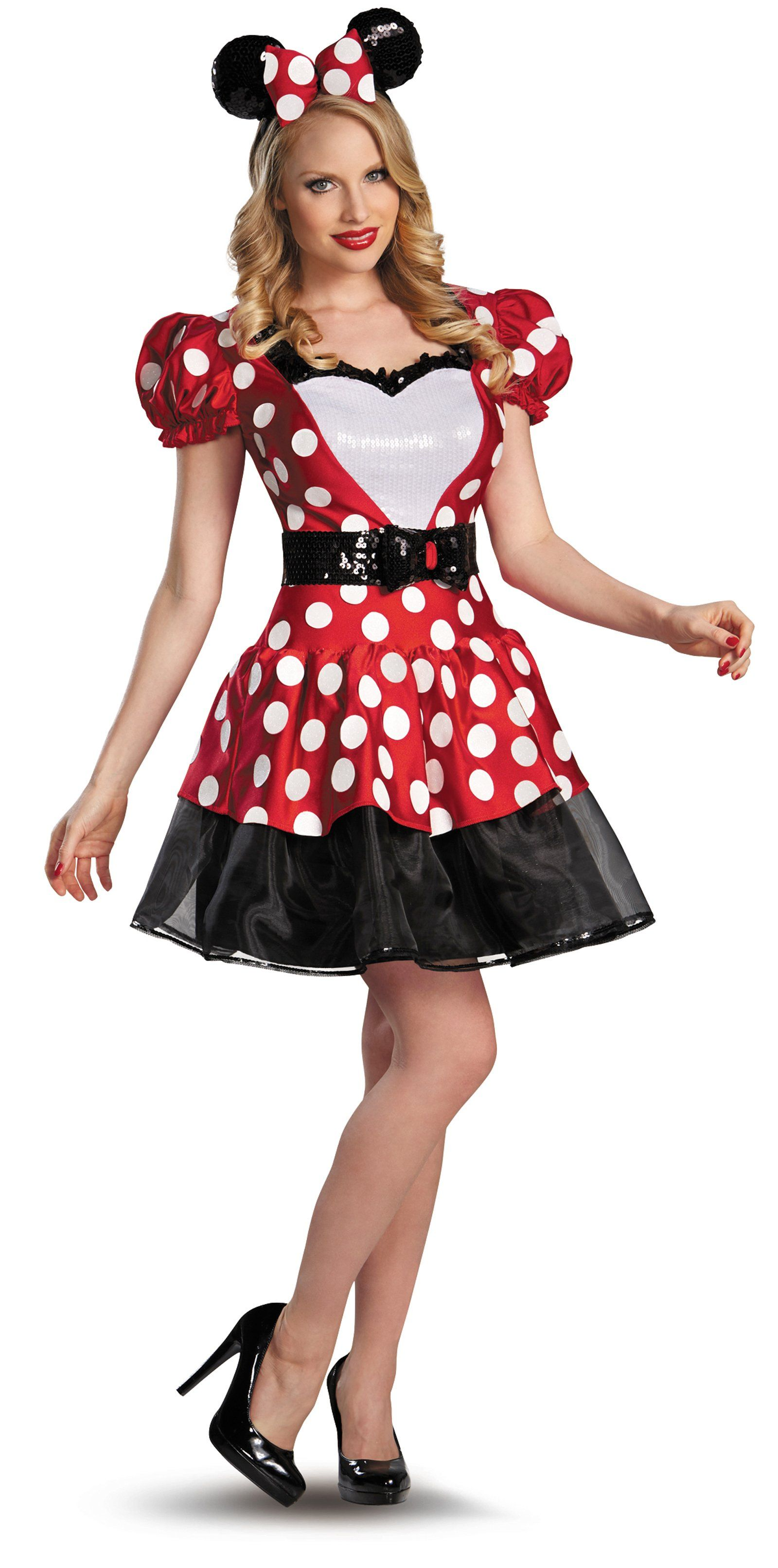 red minnie plus size glam costume | minnie costume, costumes and