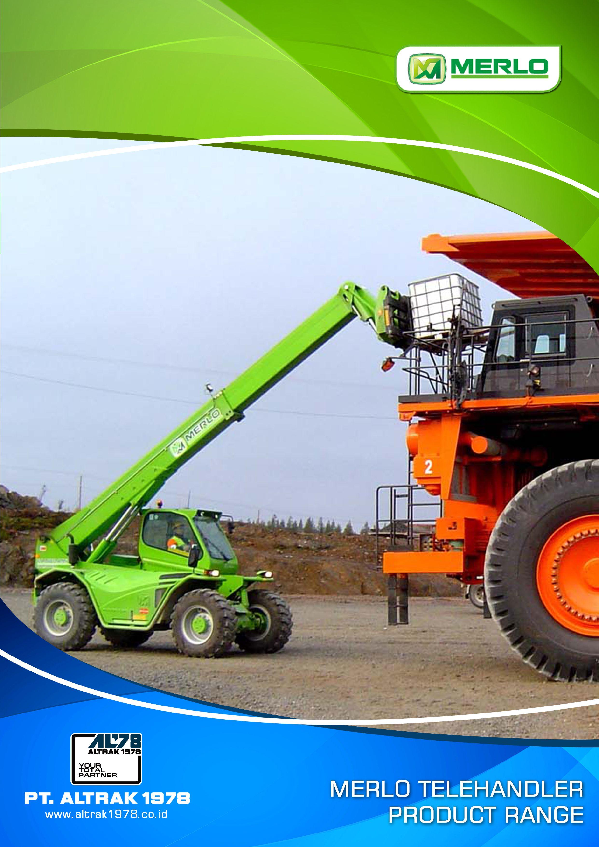 Merlo Telehandler Product Range Front Telehandler Safety Training OSHA &  ANSI Compliant www.scissorlift.training
