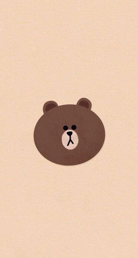 Image Result For Line Brown Wallpaper Laptop Cute Cartoon Wallpapers Bear Wallpaper Teddy Bear Wallpaper