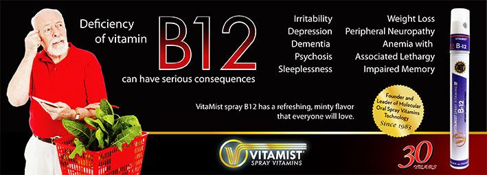B12 is so important for your health Spray yourself healthy today! http://www.vitamist.com/?click=L72113