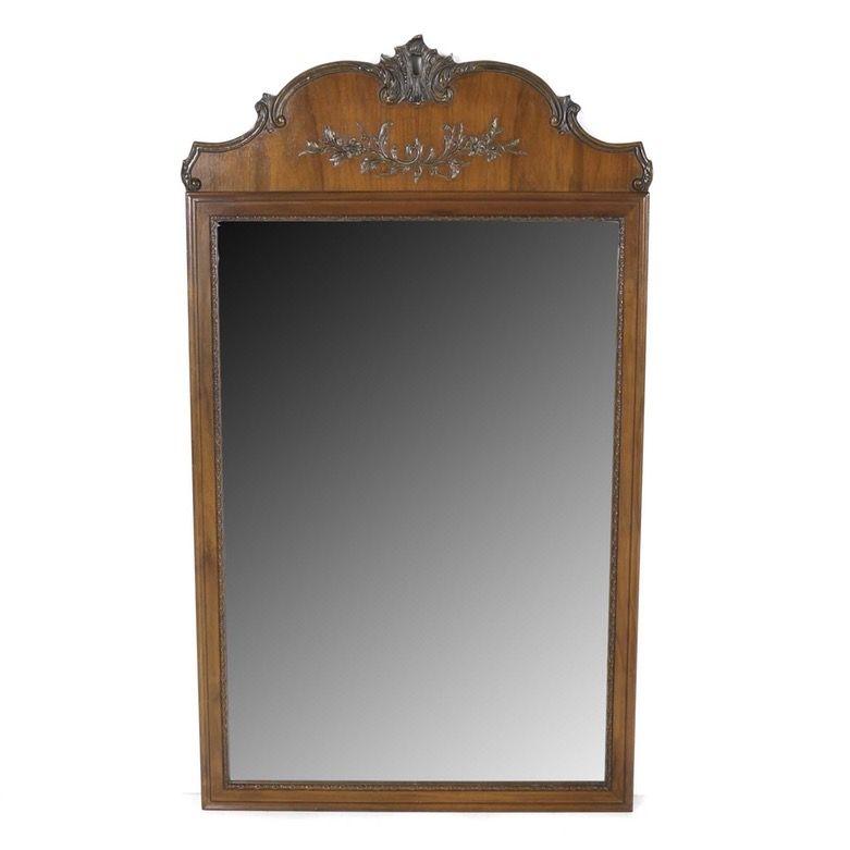 Cherry Wood Framed Wall Mirror | Frames on wall, Mirror, Wood