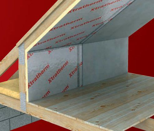 50mm Xtratherm High Performance Rigid Foam Pir Insulation