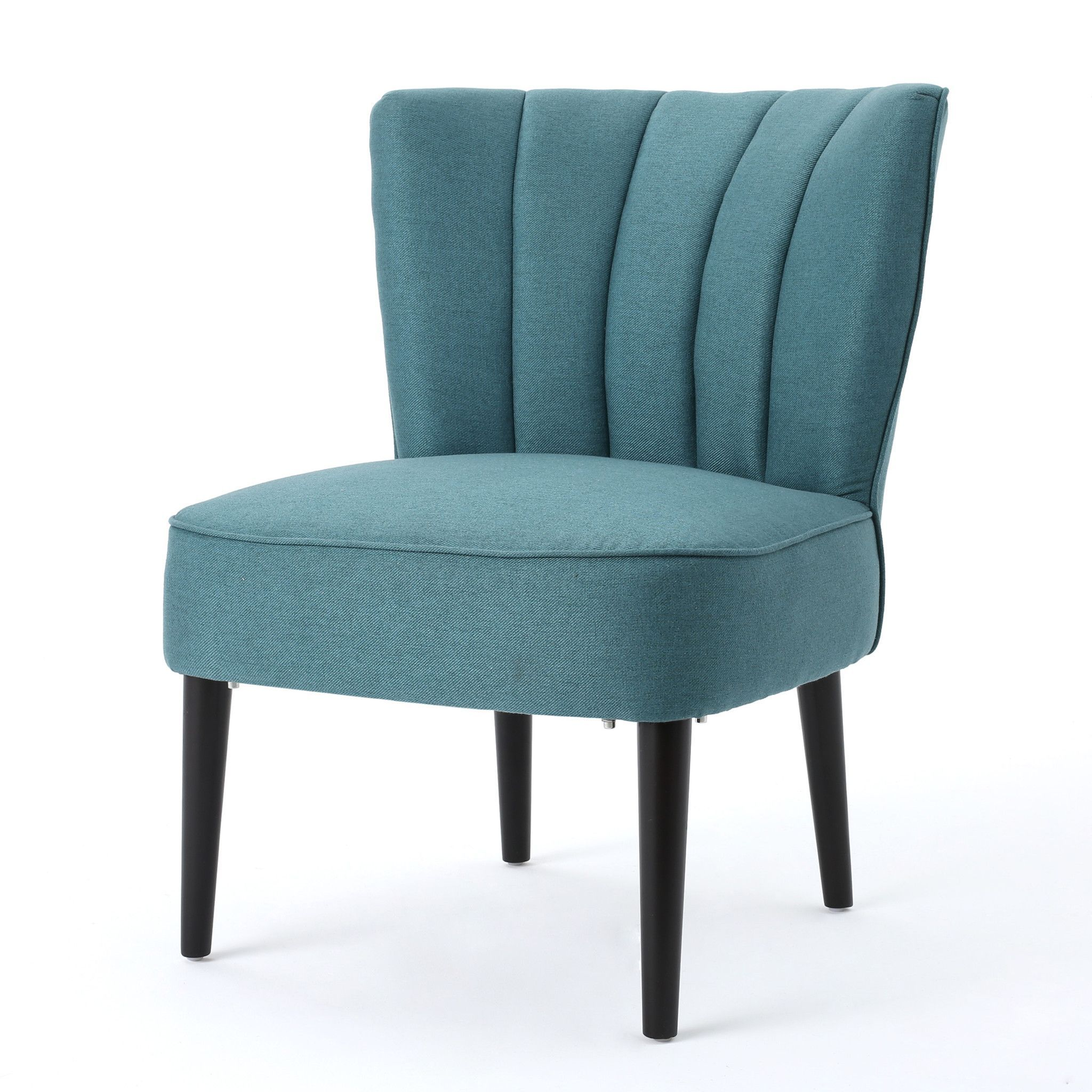 Leafdale Plush Fabric Accent Chair Upholstered Accent Chairs
