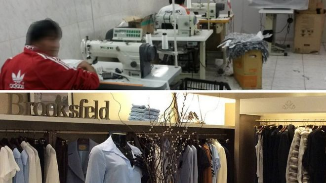 Marca de roupas de luxo é flagrada utilizando trabalho escravo e infantil em SP